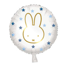 Folieballon Nijntje € 2,50 p.st. blauw 45 cm