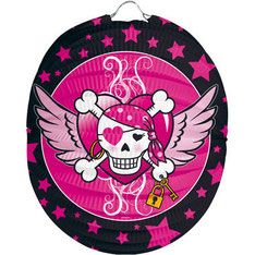Lampion Pink Pirate € 1,50 p.st.