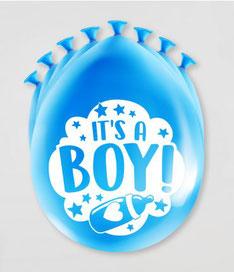 Ballonnen it's a boy! 8 stuks € 2,25