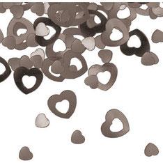 Tafelconfetti Hart zilver € 1,75