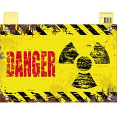 Deurbord Danger 37x48 cm € 1,95