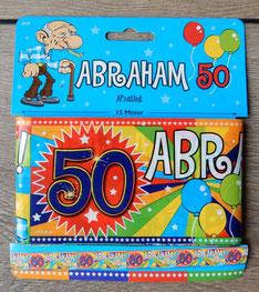 Afzetlint Abraham 15m € 2,50