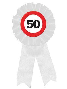 Rozet verkeersbord 50 € 2,95