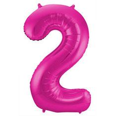 Folieballon Roze 86 cm € 3,99