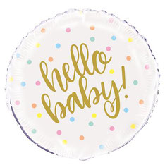 Folieballon Hello Baby € 2,25 45cm