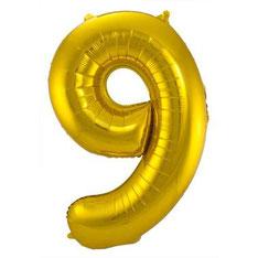 Folieballon Goud 86 cm € 3,99