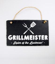 Wandbord leisteen € 9,95 Grillmeister