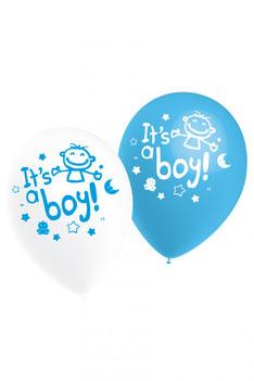 Ballonnen It's a Boy! € 3,25 10stuks