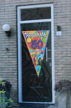 Gevelvlag Abraham 90x150 € 5,00