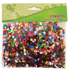 Confetti Metallic gekleurd € 2,95 100 gram