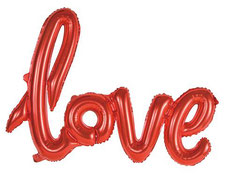 Folieballon 'Love' Rood 119 cm breed € 5,99