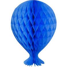 Honeycomb ballon koningsblauw € 3,60 37x26 cm