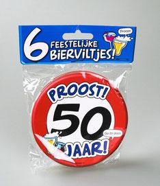 6 onderzetters € 4,95