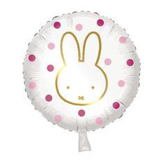 Folieballon Nijntje Roze € 2,50 45 cm