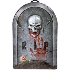 Grafsteen RIP Horror Skelet 3D 56X38 cm € 2,50