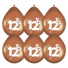 Ballonnen 12 1/5 6 stuks € 2,25