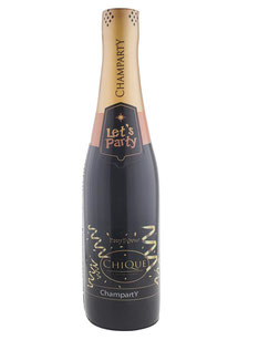 Opblaasbare Champagnefles Chique € 4,95 76cm