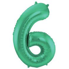 Folieballon Groen 86 cm € 3,99 UITVERKOCHT