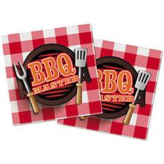 BBQ Master XL Servetten 20 stuks € 3,70