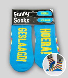 Fun socks € 7,95 OP BESTELLING LEVERBAAR