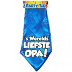 Party Tie 's € 3,95 Werelds Liefste Opa!