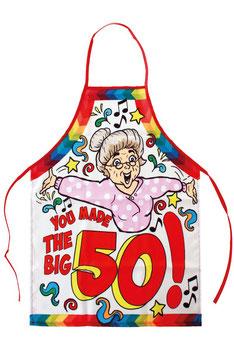 Keukenschort € 6,50 Sarah you made the big 50