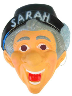Sarah masker met hoed € 3,95