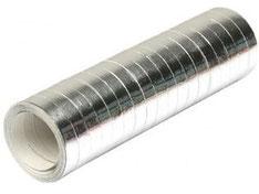 Serpentines metallic zilver € 1,25 per rol (4m)