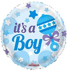 Folieballon It's a boy € 2,90 45 cm
