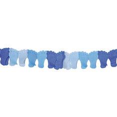 Slingers 6 m  € 2,95 voetjes blauw