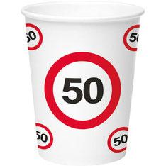 Bekertjes 50 € 2,95 8 stuks