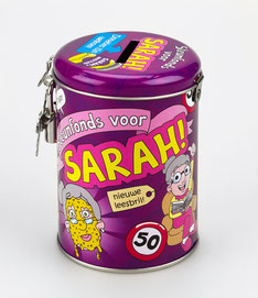 Spaarpot - Sarah € 6,95