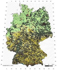 Verbreitungskarte Zauneidechse
