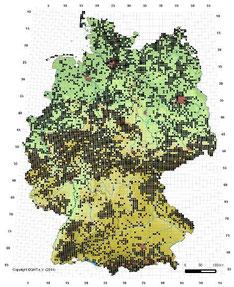 Verbreitungskarte Waldeidechse