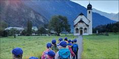 Herbstwanderung Kindergarten
