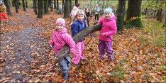Kindergarten im Wald