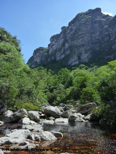 Encontros dos rios Capivari e Capivara.