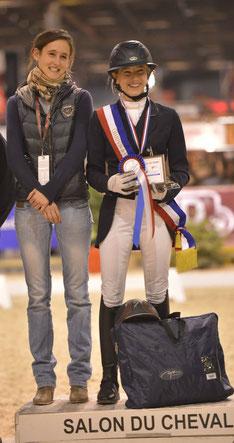 Céline Championne de France Amateur 2 Indoor 2013