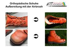 Restauration Orth. Schuhe