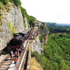 Train touristique Quercy| Location maison de vacances