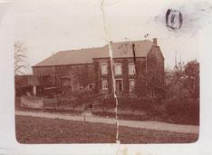 Haus wo später die Gärtnerei Henri Leger war.