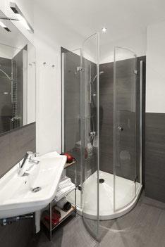 Badezimmer mit exklusivem Design.