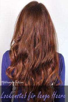 Lockenstab bei langen haaren