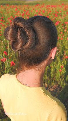 dutt dünne haare, dutt lange haare