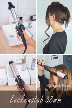 Lockenstab für lange Haare