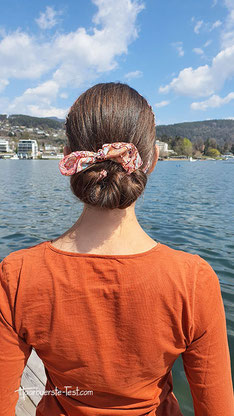 Geflochtene Haarknoten