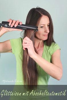 Glätteisen für nasse Haare