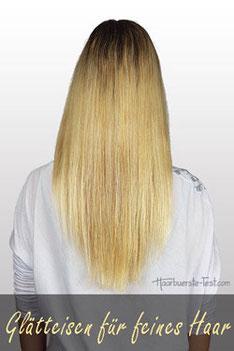 Haarglätter feine Haare