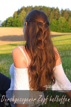 halboffene Frisur