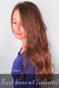 beach waves lockenstab frisur